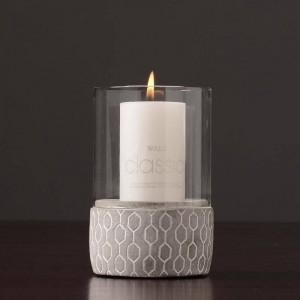 Kreative Zement Kerzenhalter Cafe Candlelight Dinner Nachtlicht Aromatherapie Kerzenbasis Home Decoration Crafts Candlestick