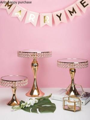 Kreative nordischen Stil Eisen Hochzeit Cup Kuchen Regal Dessert Tisch Tablett Obstschale Display Stand Dekoration Kuchen dekorieren Tools