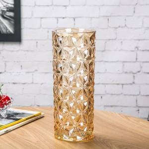 Kristallglasvase Europäische Große Vase Dekoration Ornamente