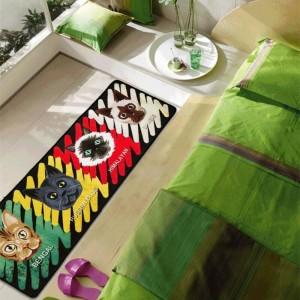 Netter Komet Mann Matten Persönlichkeit Cartoon Muster Pads Kreative Küche Teppich Tür Staub Fußmatte Haushalt Teppiche Bad teppich