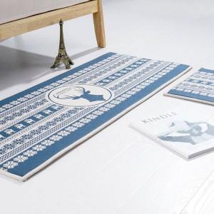 Hirschkopf Muster MAT Quadrat Kissen Küche Tür Pad Bad rutschfest entfernen Staub Fußmatten Tisch Teppich Bettwäsche Matten Teppiche