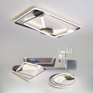 Dimmen LED Deckenleuchten postmodernen Stil für Wohnzimmer Arbeitszimmer dekorative Lampenschirm Deckenleuchte lamparas de techo