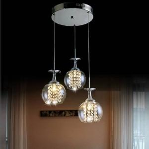 esszimmer hängen glas pendelleuchte schlafzimmer tready wein tasse kristall pendelleuchte led lampara bar küche innenlicht