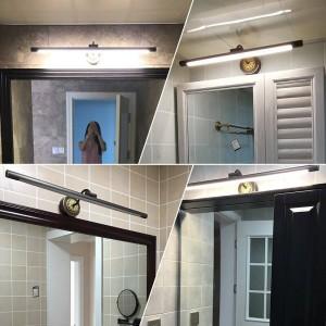 EU Kupfer Spiegel Scheinwerfer für Bad LED Schrank Lampe American Makeup Hanglamp Home Deco Wc Wandleuchte Leuchten