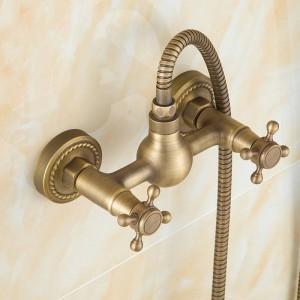 Euro-Design antike Bronze Smart Shower Kit Bad Badewanne Wasserhahn Dusche Handbrause