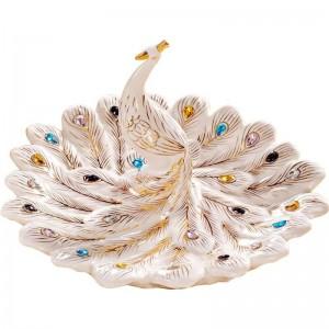 Europäische keramik obstteller obstschale wohnzimmer tisch couchtisch display praktische dekoration handwerk geschenk ornamente