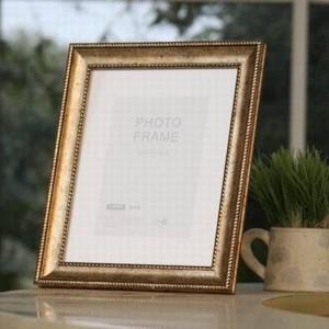 Europäischer Rahmen tun das alte Retro blasses Gold 7 Zoll Foto-Rahmen-Foto-Rahmen-Foto-freie Internationale