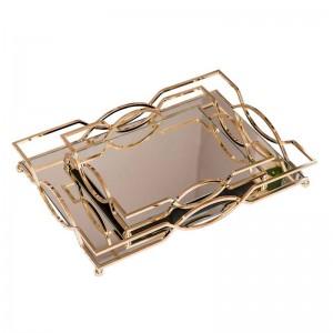 Europäische Dekoration Ablageschale Modell Zimmer Tee-Set Ornamente Ornamente Hochzeitsgeschenke