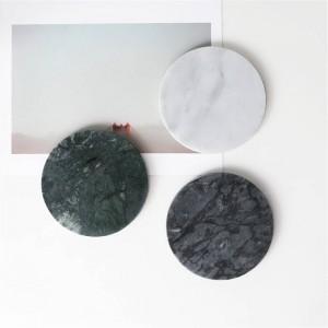Europäische Marmor Muster Büro Tisch Speicherplatte Chic minimalistischen skandinavischen nordischen Keramik Schreibtisch Ablage Organizer Dekor
