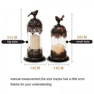 Europäischen Stil Kerzenhalter Romantisches Kerzenlicht Abendessen Liefert Nachtlicht Eisen Kerzenhalter Windlicht Dekoration Kunsthandwerk