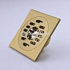 European Style Kupfer Badezimmer Dusche Bodenablauf Desodorierung Wasserablauf für Waschmaschine FD-9