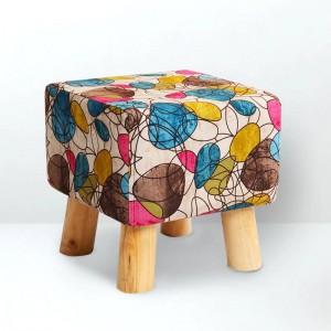 Mode Moderne Kreative Heimat Hocker Kleinen Stuhl Weiche Natürliche Futter Schuhe Hocker Massivholz Unterstützung Wohnzimmer Schlafzimmer Hocker
