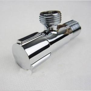 """Wasserhahn Ersatzteile 1/2 """"x 1/2"""" Chrom Messing Bad Eckventil Füllung Dreieck Ventil Toilette Wasser Absperrventil HJ-612L"""