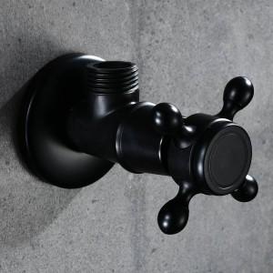 Wasserhahn Ersatzteile Antik Messing Eckventil für Toilette Universal Stop Wasser Dreieck Ventil für Wasserhahn und Toilette HJ-0316R