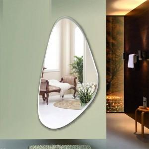 Rahmenlose Montage Spiegel Schlafzimmer Dekoration Spiegel Wandbehang Ganzkörperspiegel Eingang Boden Spiegel wx8231137