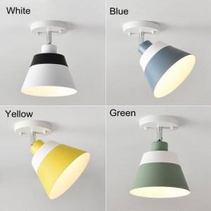 Freie justierbare macaron LED-Deckenleuchten moderne einfache bunte Familienkorridor-Dekorationsoberfläche brachte LED-Lampe an