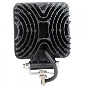 27W Quadrat LED Arbeitslichtleiste 9 x 3W LED-Chip Flood Spot Beam Scheinwerfer Offroad Light Bar Fit ATV Außenleuchte
