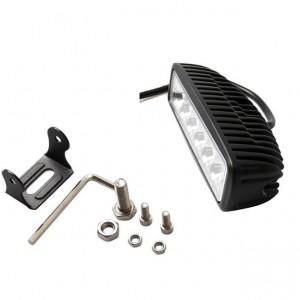2 stücke 36 Watt 6 zoll hohe helligkeit Led-lichtleiste Flutlichtstrahl Scheinwerfer Lichtleiste Fit ATV DIY außenleuchte