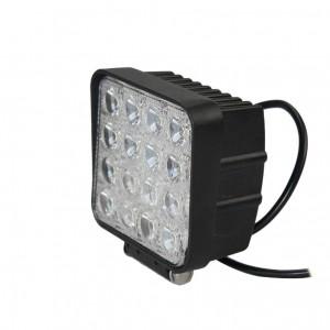 48 W LED-Arbeitslichtleiste 16 x 3 W LED-Chip Flood Spot Beam Scheinwerfer Offroad Light Bar Fit ATV Außenleuchte