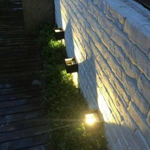 6W LED Wandlampe Kung Surface Mounted Cube LED Wandleuchte Nordic Style Halterung Lampe Wohnzimmer Veranda Gartenlampe