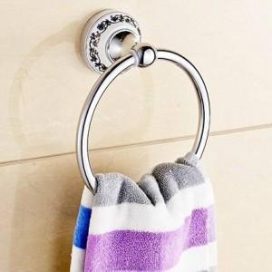 und Einzelhandel Handtuchring Mit Porzellan Badzubehör Chrom Handtuchhalter Wand Handtuchhalter