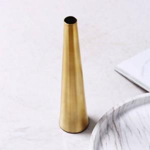 Goldene Vase Kreative Blumenschmuck Trockene Vase Heimtextilien Dekoration Weiche Dekoration Einrichtung