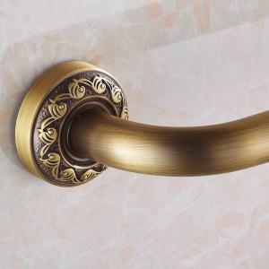 Haltegriffe Antik Messing Wandmontage 52 cm Bad Sicherheitsgriffe Dusche Haltegriff Badewanne Handlauf Home Assist Bar Grab 3721F