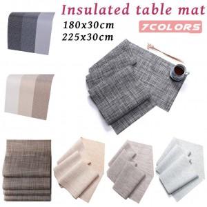 Hitzebeständige rutschfeste Tischauflagen für Umweltschutz Umweltfreundliche innovative Tischdecke Tischdekoration