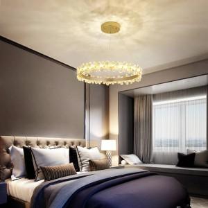 Innenministerium führte Leuchterdeckenbefestigung Restaurant-Beleuchtungs-romantischen Schlafzimmerlampenwohnzimmerkristall beleuchtet Leuchter