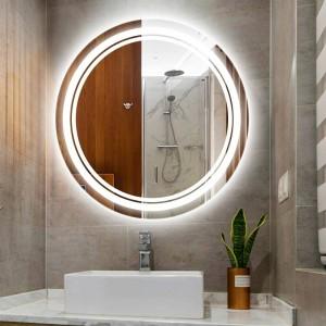 Home Round LED Make-up Spiegel Licht Wandleuchte IP54 wasserdicht Bad Hotelzimmer WC Spiegel LED-Licht LED-Wandleuchten