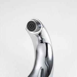 Hot & Cold Badezimmer Automatische Hände Berührungslose Sensor Wasserhähne wassersparende Induktive elektrische Deck Montiert Wassermischbatterie 8101