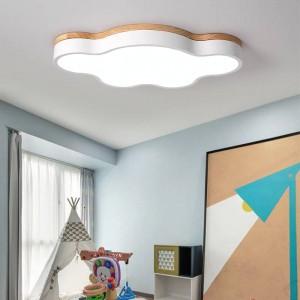 Heiße dünne led deckenleuchten schlafzimmer lampen modern mit farbe polarisator luminaria lampen kind leuchte lampe deco mit holz