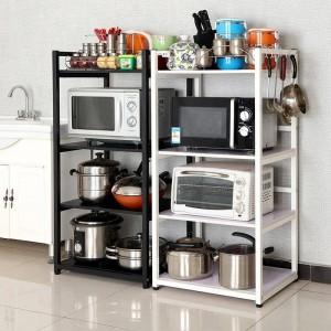 Industriedekor Bücherregal Dekorative Wand Parkett Küche Aufbewahrungsregal Bad Organizer Rangement Küche Regal