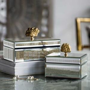InsFashion creative handgefertigte kreative schmuckschatullen für moderne luxus wohnkultur