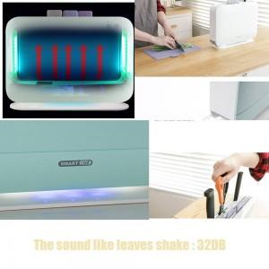 IRIVER BLANK UV Elektrische Index Schneidebrett Sterilisator Küchenmesser Desinfektionsmaschine, 3 stücke Schneidebretter Set Für Zuhause