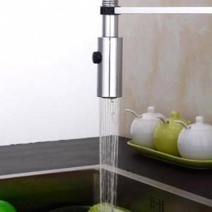 Küchenarmatur Neu Design 360 Swivel Massivem Messing Einhebelmischer Waschtischarmatur Chrom Heißes und kaltes Wasser Torneira LAD-83