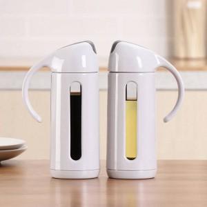 Küchenartikel Glasölflasche Haushaltsöl Auslaufsicherer Tank Gewürz Sojasauce Essigflasche Ölspender Küchenbedarf
