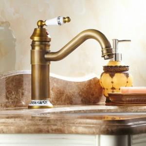 Spüle Bad Waschbecken Wasserhähne Messing Wasserhahn Mischbatterie Swivel 9881/9882/9883