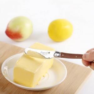 Laguiole-Art-Butterverteiler-Messer-Satz Edelstahl-Käseschneider-Buttermesser mit Holzgriff 6,25-Zoll-Küchenbesteck