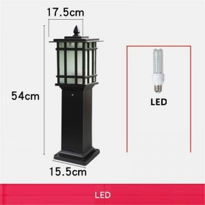 Lamba Garden lamp Square Farola Exterior Lamp Ogrodowe Construction lamp Lampione Off Road Plaza Luminaire Exterior Street Light
