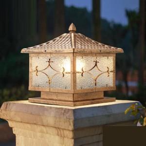 Garden Lamp Post Spotlight Projector LED Solar Outdoor Terraza Y Jardin Decoracion Luminaire Exterieur Landscape Lighting