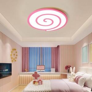 LED-Deckenleuchten mit Kristallschatz und weißem Flächendimmer oder Schalter für Wohn- oder Schlafzimmer