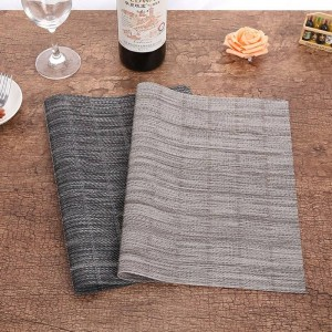 Lekoch 4 Teile / los Tasse Tischsets Für Tisch PVC wasserdicht Esszimmer Tischsets Schüssel Platte Teller Pad Untersetzer Set Küche Zubehör