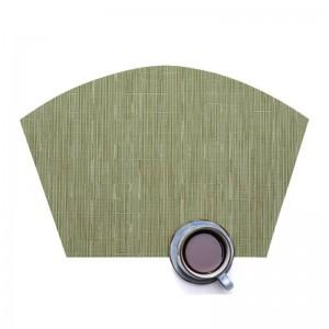 Lekoch 5 Teile / los PVC Tischsets Rutschfeste Kunststoff Tischset Tassen Schüssel Pad Platte Matte Trinken Esstisch Matten Home Küche Zubehör