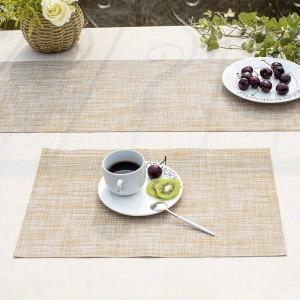 Lekoch 5 teile / los PVC Tischsets Rutschfeste Isolierung Tischset Waschbar Tischsets Untersetzer Für Esstisch