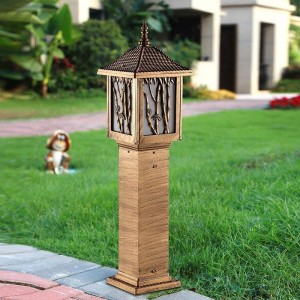 Lumiere De Lampe Exterior Decor Ogrodowa Solar Garden Lighting Decoracion Jardin Exterior LED Garden Light Outdoor Lawn Lamp