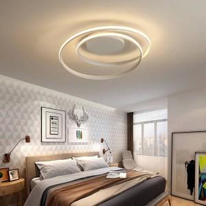 Lustre LED Deckenleuchten für Wohnzimmer Arbeitszimmer Home Deco AC85-265V weiß moderne Deckenaufbauleuchte