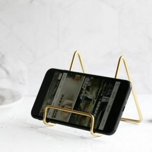 Metall Gold Aufbewahrungsregal Vogue Moderne Halter Nordic Eisen Schreibtisch Kleinigkeiten Handy Aufbewahrungshalter für PAD Organizer Home