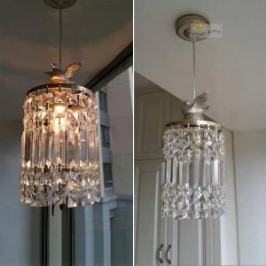 Moderne mode einkristall pendelleuchte moderne wohnzimmer lampen schlafzimmer dekoration beleuchtung lampen