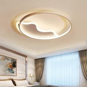 Moderne geführte Deckenleuchtefernbedienung für runde bunte Deckenleuchten der Wohnzimmerschlafzimmerbabywolken-Herzform abajur